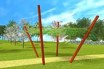 Park patriotů vznikne na neupraveném prostranství mezi Svitavským stadionem a Vodárenským lesem. Nebudou v něm chybět louky pro piknik, stromy a keře, lavičky ani pěšiny.