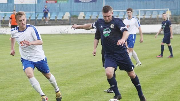 Z utkání Moravská Třebová vs. Dolní Újezd (2:1).