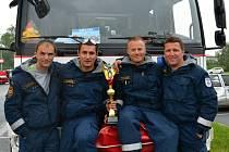 Svitavští hasiči jsou ve vyproštování nejlepší v kraji.
