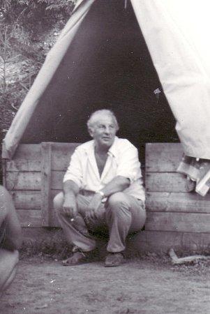 Mezi nezapomenutelné správce  tábora vdolině Čutkovo patřil Rudolf Junger.
