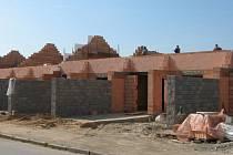 Nové řadové domky na Gorkého ulici vyjdou na 2,2 milionu korun.