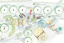 Návrh nového naučného hřiště u rybníka Rosnička