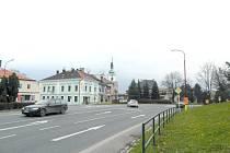 SILNICE I/43 ve Svitavách.