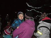 Rozsvěcení vánočního stromečku v Dolním Újezdu