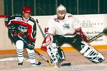 Robin Šauer byl v brankovišti znovu oporou svitavského mužstva a výraznou měrou se zasloužil o další cennou výhru z domácího ledu.