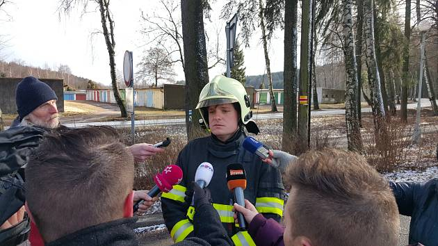 Lukáš Schauer, Sbor dobrovolných hasičů Polička