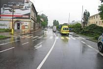 Svitavy – Na ulici T. G. Masaryka srazilo v úterý 19. května před osmou hodinou ráno na přechodu pro chodce auto čtrnáctiletou školačku.
