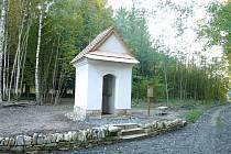 Killerova kaple před dokončením.
