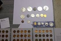 Zmizely mince za 800 tisíc.