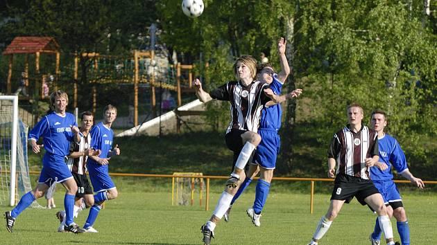 Česká Třebová vyhrála jedním gólem nad Poličkou.