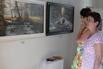 Vernisáž výstavy Návraty v galerii Welen
