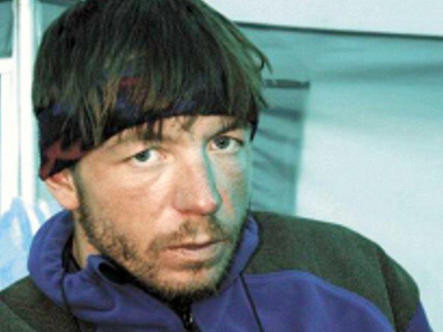 Horolezec Roman Langr z Linhartic.