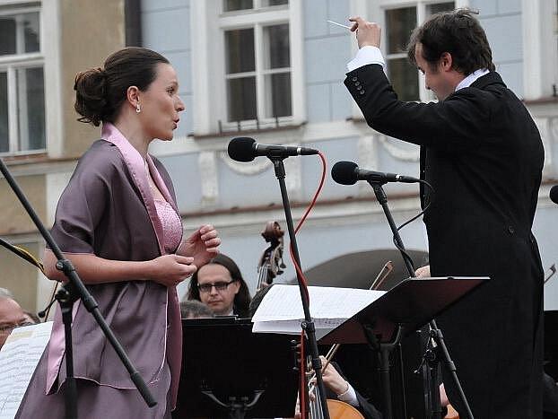 Opera pod májovým nebem v Litomyšli. Ilustrační fotografie
