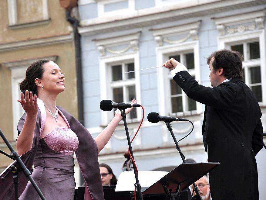Opera pod májovým nebem v Litomyšli.