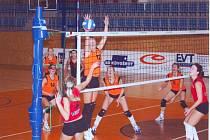 Volejbalový zápas Brna a Svitav
