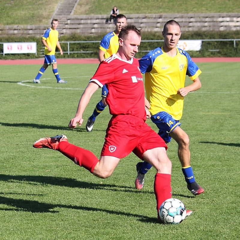 TJ Jiskra Litomyšl vs. FK Spartak Choceň.