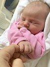 EMA OBHLÍDALOVÁ. Narodila se 2. května Pavlíně Kopřivové a Petru Obhlídalovi ze Svitav. Měřila 50 centimetrů a vážila 3,5 kilogramu.