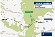 Údržbové práce uzavřou tunel Hřebeč na silnici I/35