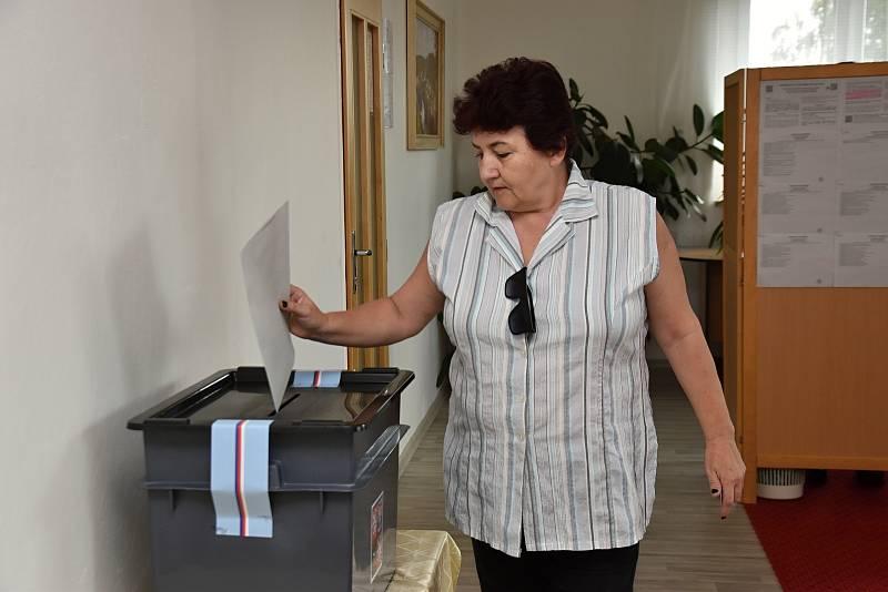 V Sebranicích chodí k volbám celé rodiny.