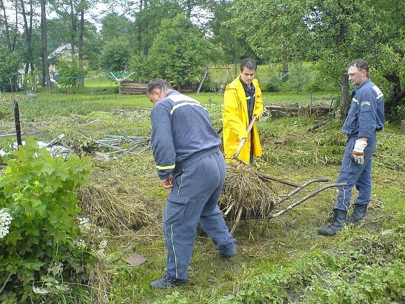 Záplavy Olešnice 2006.