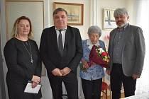 Marie Křížová oslavila v úterý 100 let.