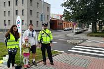 Policie ve svitavském okrese i letos udělala akci Zebra se za tebe nerozhlédne.