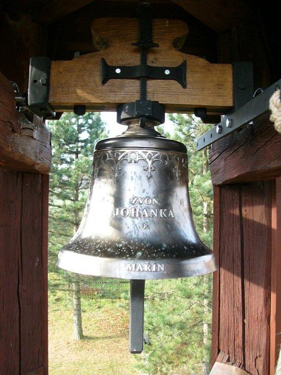 Nový zvon v Maříně