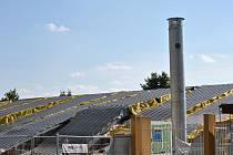 Stavba bazénu v Litomyšli se blíží ke konci.