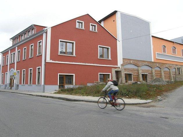 Lidové divadlo ve Svitavách.