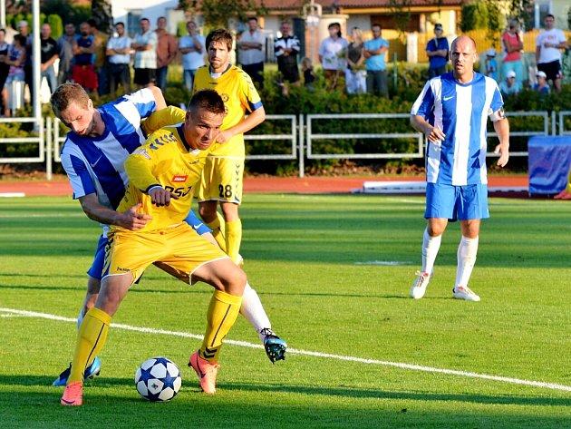 Pohár České pošty ve fotbale: TJ Svitavy - FC Vysočina Jihlava.