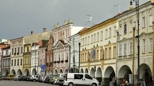 Náměstí v Litomyšli