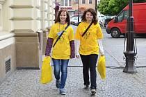 Den boje proti rakovině ve Svitavách.