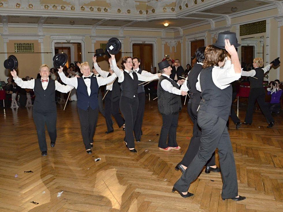 Dobový ples v Litomyšli.