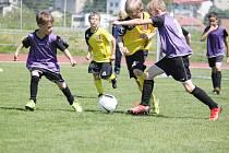 Fotbaloví mladší elévové ze Svitavska v akci.