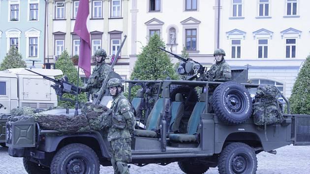 Oslavy vojenství v Moravské Třebové.
