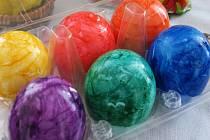 Barvená vejce.