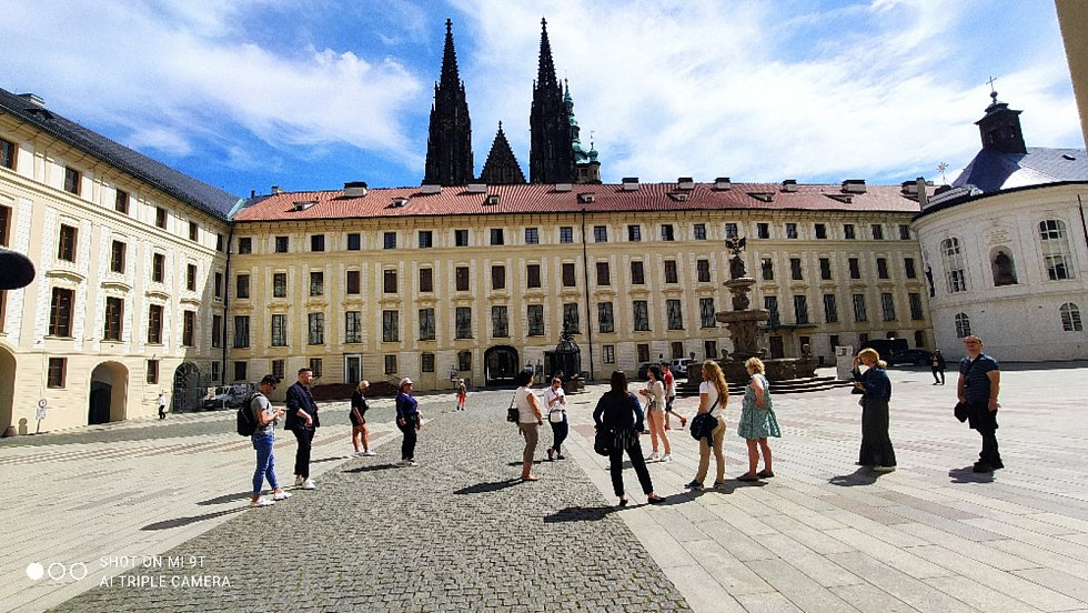 Z červnové procházky po Praze.
