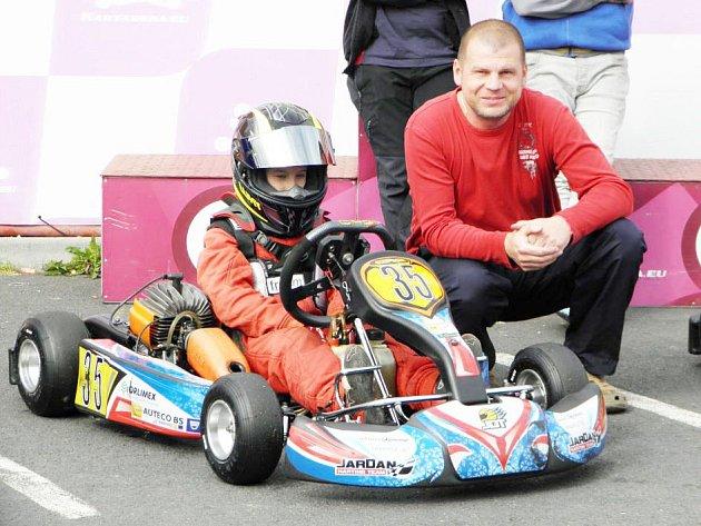 Jedním z talentovaných jezdců Jardan Karting Klubu je Lukáš Hříbal.