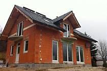 Výstavba bytových domů.