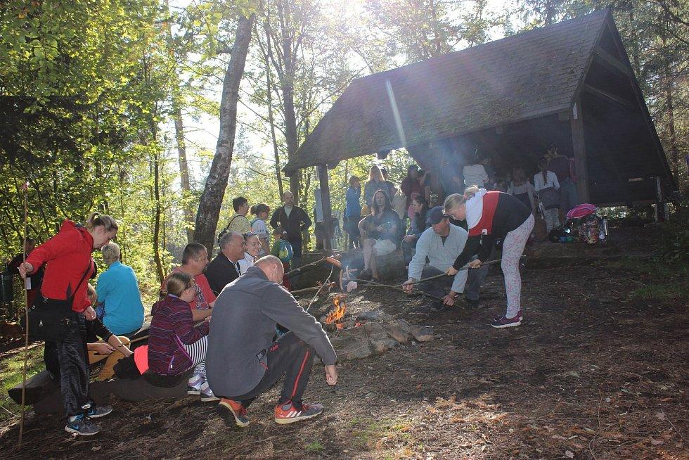 ROZHLEDNA PASTÝŘKA v Moravské Třebové oslavila v sobotu 10. narozeniny.