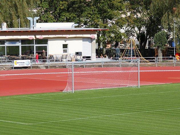 Sportovní park Svitavský stadion.