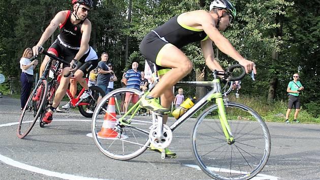 Litomyšlský triatlon Decimuž v roce 2020.