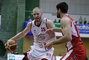 4. čtvrtfinále basketbalové NBL Svitavy - Pardubice (62:70).