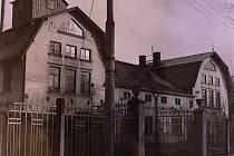 Budova bývalé olejny v Litomyšli.