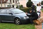 Střelba a zásah policejních psů v Dolním Újezdu