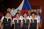 Tenkrát v Americe. Když česká seniorská reprezentace startovala vloni na mistrovství světa v Las Vegas, bylo to vůbec poprvé v historii. František Brokeš (v zadní řadě druhý zprava) byl u toho.