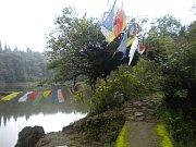Mokřina v Mai Pokhari.