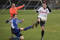 Svitavští fotbalisté vyhráli 1:0 nad Chocní.
