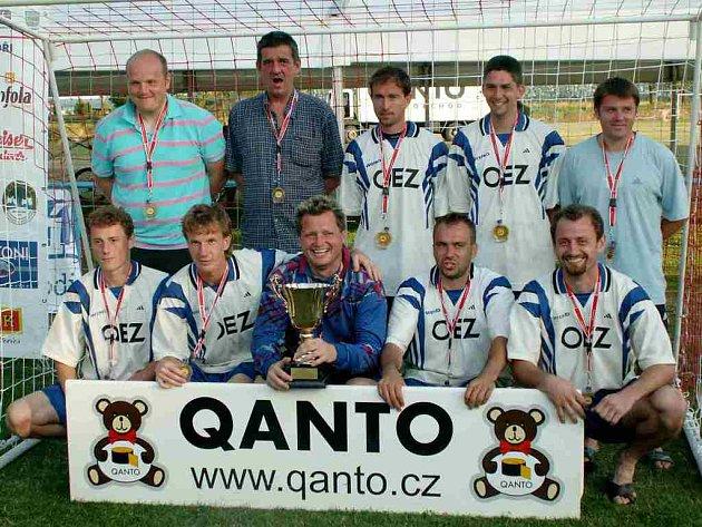 Na Qanto Cupu 2007 skončil Kapr Team na třetím místě.