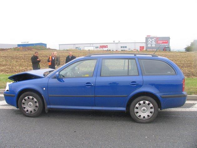 Dopravní nehoda v Litomyšli